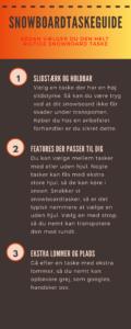 guide til snowboard taske