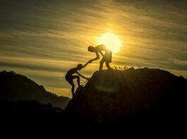 To klatrere
