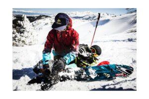 guide med snowboard støvler